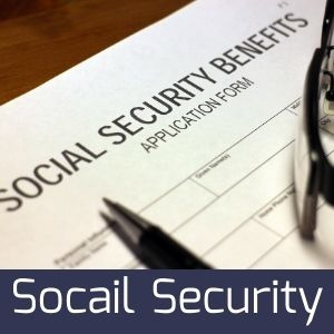 image of a social security application